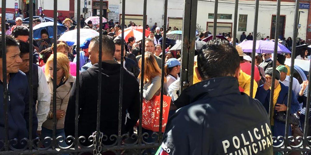 Comerciantes rechazan a Foideh y piden más espacios
